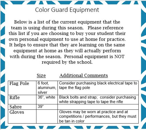 Color Guard « Summit High School Spartan Band