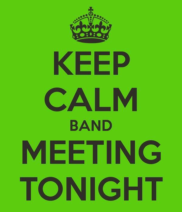 BandMeetingTonight